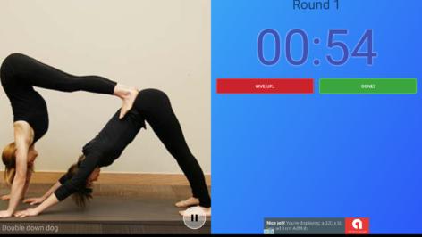 yoga challenge app  buttershy studios